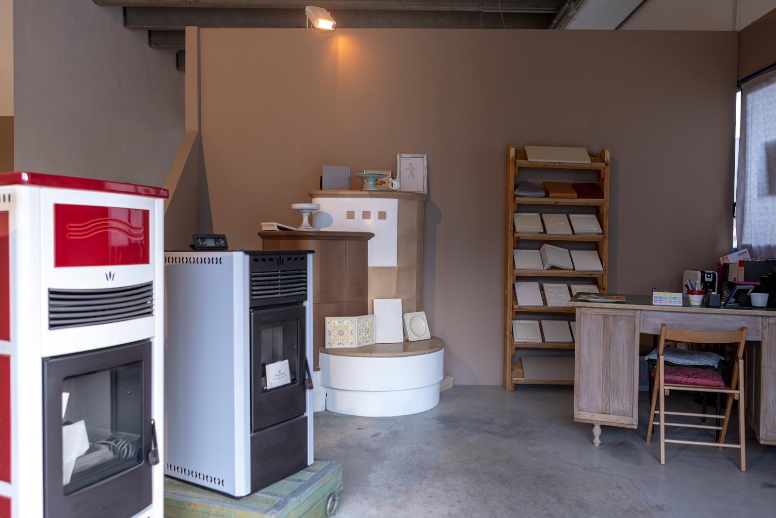 Grottolo Stufe a pellet - showroom